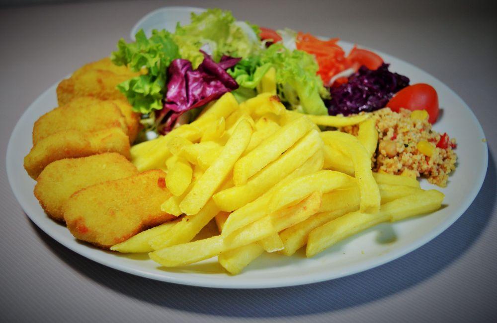salade frites restaurant fribourg
